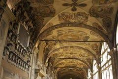 拱廊波隆纳 库存照片