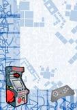 拱廊背景 免版税库存图片
