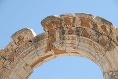 拱廊ephesus 免版税库存图片