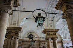 拱道在萨默塞特议院里 库存图片