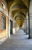 拱道在Lucca -意大利 库存照片