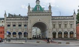 拱道Tretyakovsky段落在莫斯科 库存图片