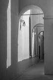 拱廊在伊兹密尔 库存照片