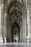 拱廊在维也纳 库存图片