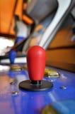 拱廊电子游戏的控制杆 免版税图库摄影