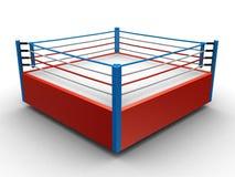 拳击台 库存照片