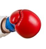 拳击商业 免版税库存图片