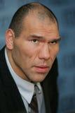 拳击手尼古拉valuev 免版税库存照片