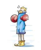 拳击手 免版税库存照片