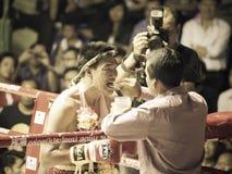 拳击Muay泰国慈善 库存图片