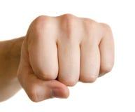 拳头人 免版税库存照片