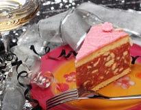 拳打蛋糕 库存照片