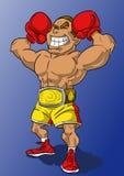 拳击冠军 图库摄影