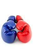 拳击手套 免版税库存图片