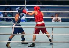 拳击赛 免版税图库摄影