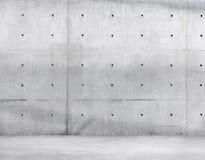 拷贝空间的混凝土墙和水泥地板 免版税图库摄影