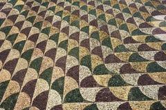 拼花地板Terme di Caracalla 免版税库存图片