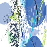 拼贴画当代纹理 艺术性现代 向量例证