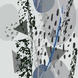 拼贴画当代纹理 艺术性现代 皇族释放例证
