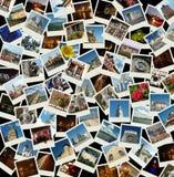 拼贴画欧洲去照片 免版税库存照片