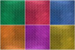 拼贴画铺磁砖的玻璃纹理,背景(绿色,蓝色,红色或者 库存照片
