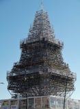 拿坡里-垂直的Nalbero 库存图片