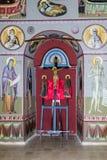 拿撒勒东正教Metropolite的内部在老城拿撒勒在以色列 库存照片