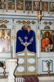 拿撒勒东正教Metropolite的内部在老城拿撒勒在以色列 库存图片