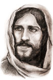拿撒勒的耶稣基督 皇族释放例证