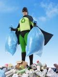 Eco超级英雄 免版税库存照片