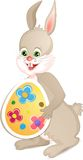 逗人喜爱的复活节兔子 免版税库存图片