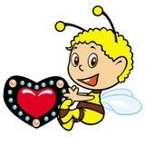 小的蜂 免版税库存照片