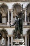 拿破仑雕象在Pinacoteca di Brera在Milao 库存照片