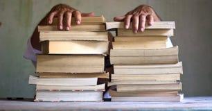 拿走一切,但是没有我的书 免版税库存图片