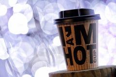 拿走的咖啡 免版税库存照片