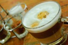 拿铁咖啡 免版税库存图片