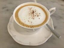 拿铁 咖啡 经典 库存图片