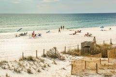 巴拿马城海滩,佛罗里达 免版税库存图片
