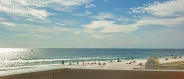 巴拿马城海滩,佛罗里达 免版税库存照片