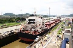 巴拿马海峡 免版税库存照片