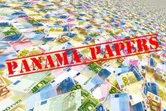 巴拿马纸 免版税库存照片
