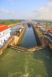 巴拿马运河 免版税库存照片