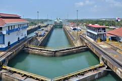 巴拿马运河 免版税库存图片