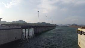 巴拿马运河02 库存图片
