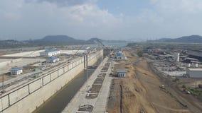 巴拿马运河03 免版税库存图片