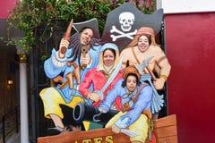 拿骚博物馆的海盗,巴哈马 库存图片