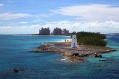 拿骚巴哈马和天堂海岛 库存照片
