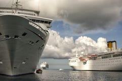 拿骚巴哈马海岛口岸  免版税库存照片