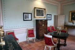 拿破仑・波拿巴住所在费拉约港,厄尔巴岛 免版税图库摄影