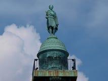 拿破仑特写镜头的纪念碑 免版税库存照片